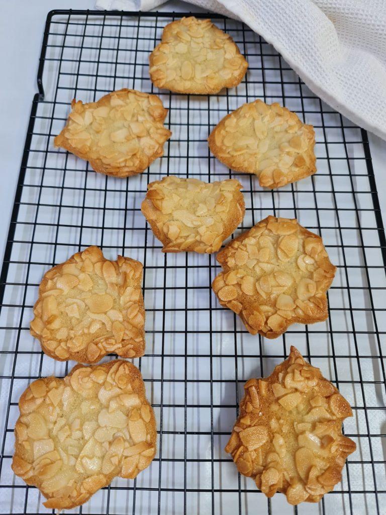עוגיות לאחר אפייה